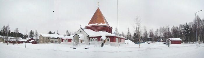 25 mo Costruzione del centro parrocchiale di Oulu Finlandia