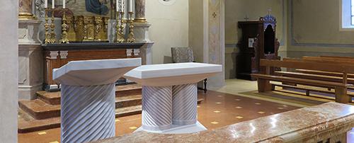 Chiesa di san Biagio e Maurizio Torricella Inaugurazione